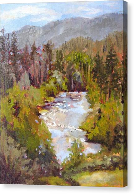 Big View Canvas Print