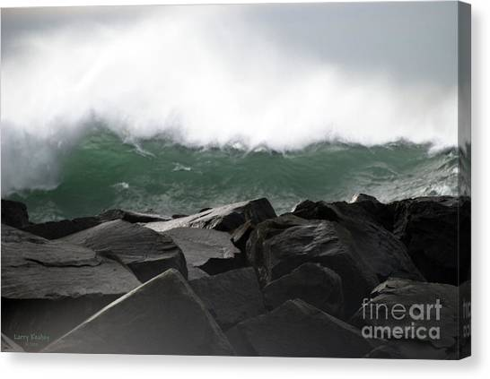 Big Wave Canvas Print