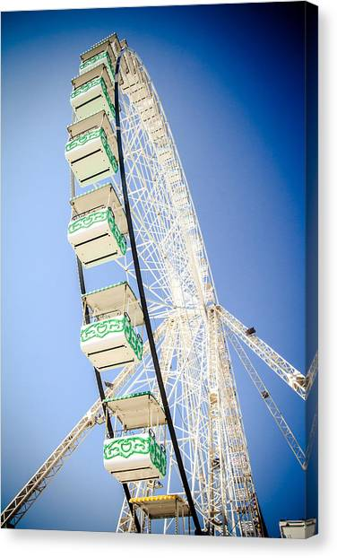 Canvas Print featuring the photograph Big Wheel by Jason Smith