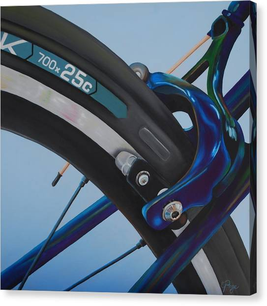 Bike Brake Canvas Print