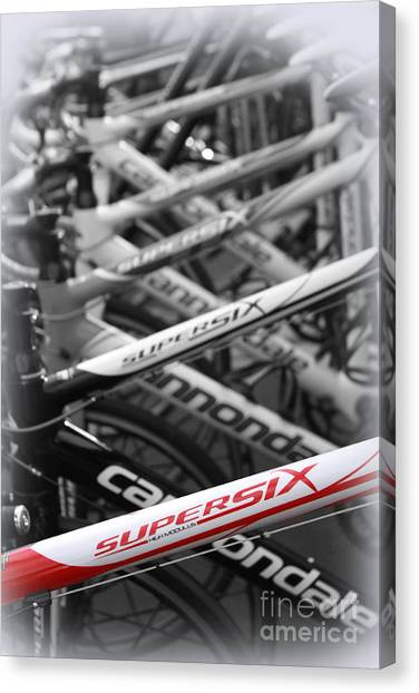 Bike Frames Canvas Print