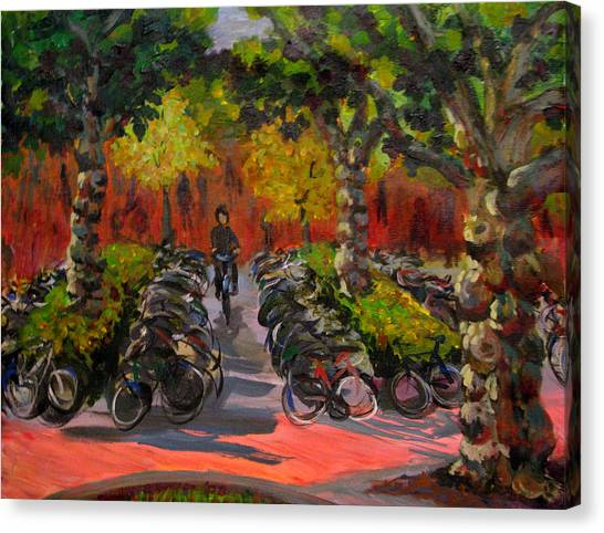 Bike Park Canvas Print