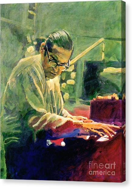 Bill Evans Quintessence Canvas Print