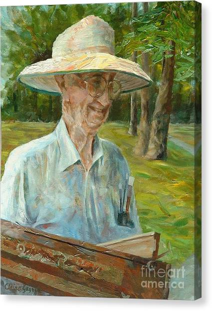 Bill Hines The Legend Canvas Print