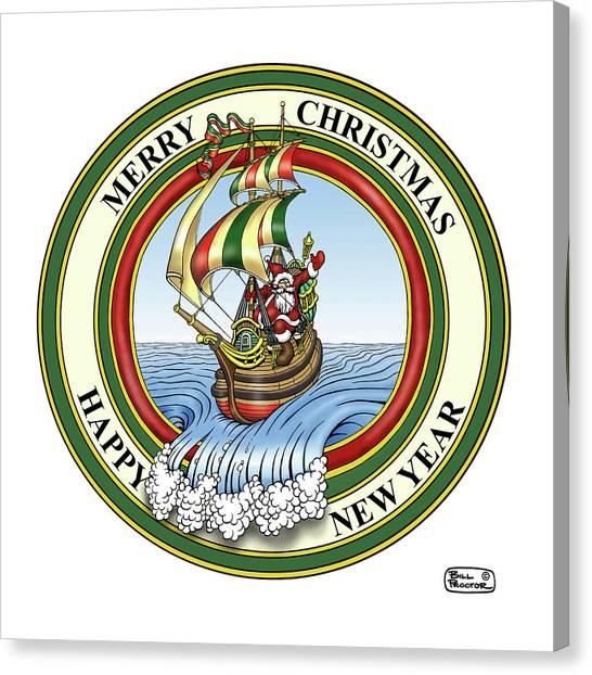 Canvas Print - Bill Proctor Christmas by Bill Proctor