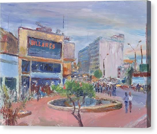 Billares Canvas Print by Horacio Prada