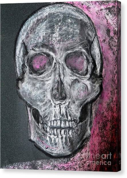 Billie's Skull Canvas Print