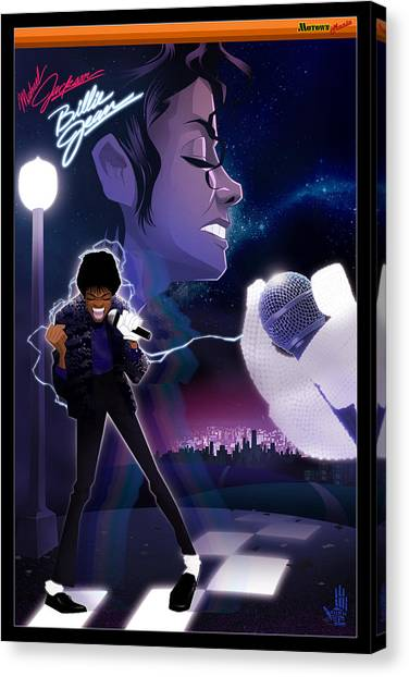 Billie Jean 2 Canvas Print