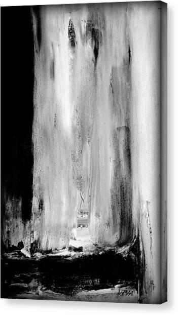 Billowing At Midnight Canvas Print