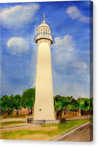 Biloxi Lighthouse Canvas Print