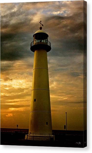 Biloxi Lighthouse - Sunrise Canvas Print