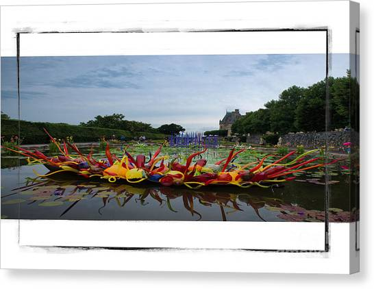 Biltmore Chihuly1 Canvas Print