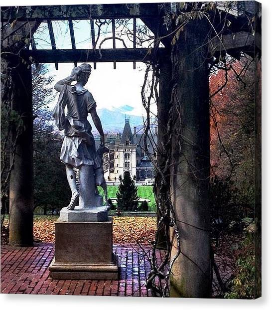 Biltmore Goddess Canvas Print by Jen McKnight