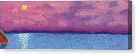 Bimini Sunrise Canvas Print