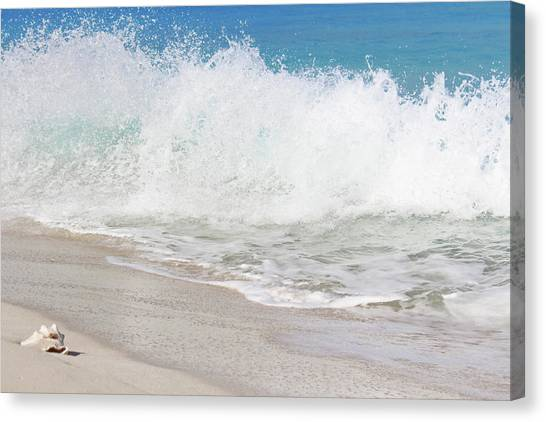 Bimini Wave Sequence 2 Canvas Print