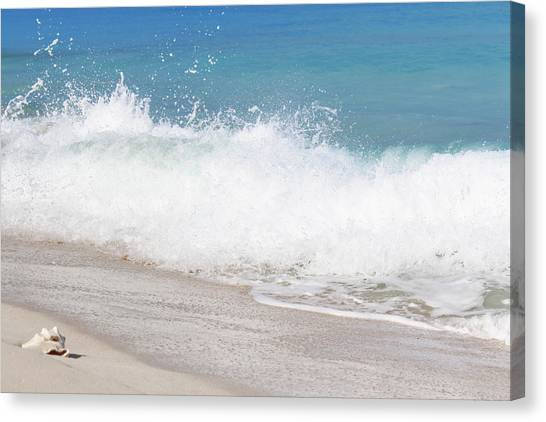 Bimini Wave Sequence 4 Canvas Print