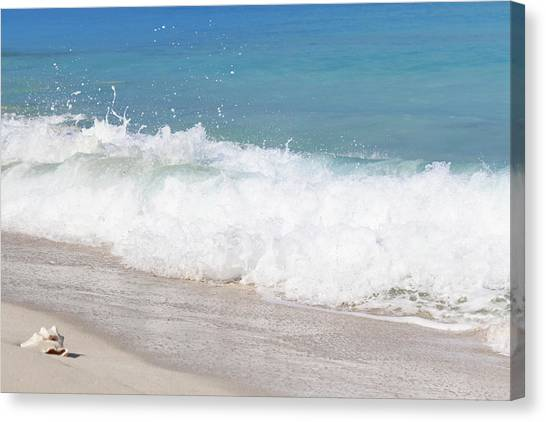 Bimini Wave Sequence 5 Canvas Print