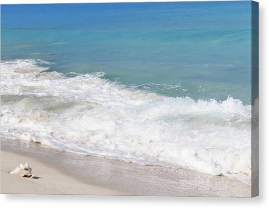 Bimini Wave Sequence 6 Canvas Print