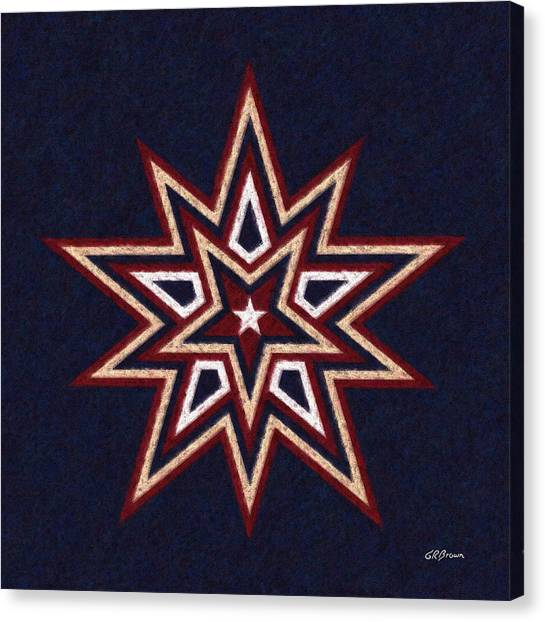 Binary Star Canvas Print