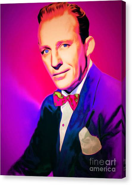 Tap Dance Canvas Print - Bing Crosby 20151226 by Wingsdomain Art and Photography
