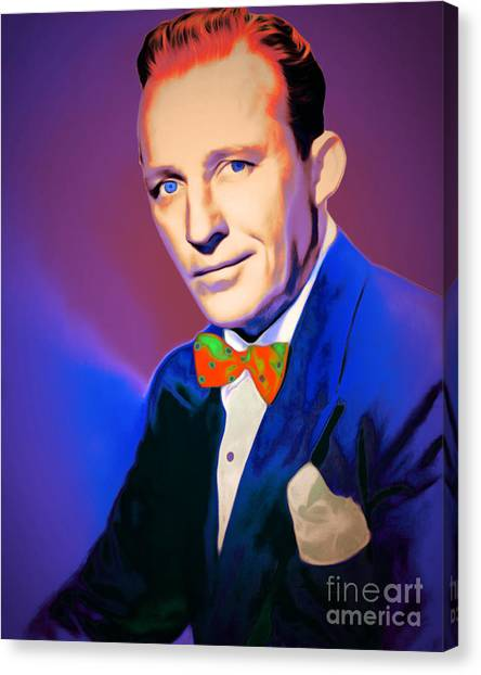 Tap Dance Canvas Print - Bing Crosby 20151226v2 by Wingsdomain Art and Photography