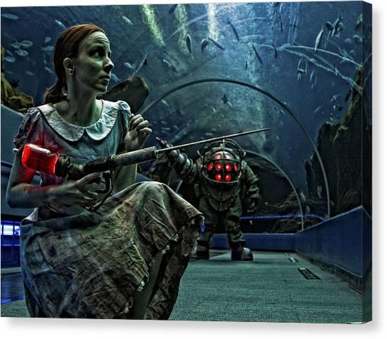 Bioshock Canvas Print - Bioshock by Dorothy Binder