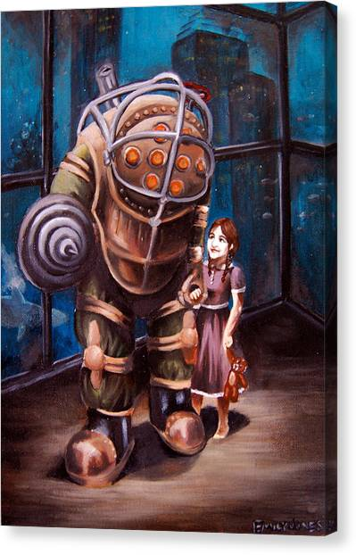 Bioshock Canvas Print - Bioshock by Emily Jones