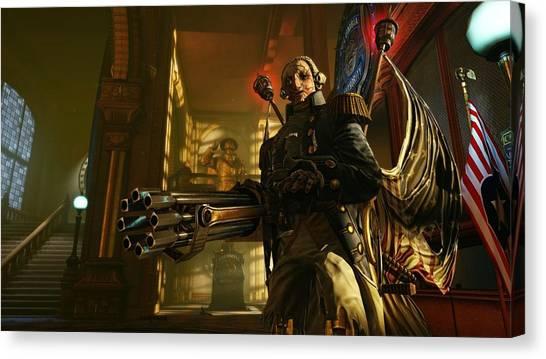 Bioshock Canvas Print - Bioshock Infinite by Bert Mailer