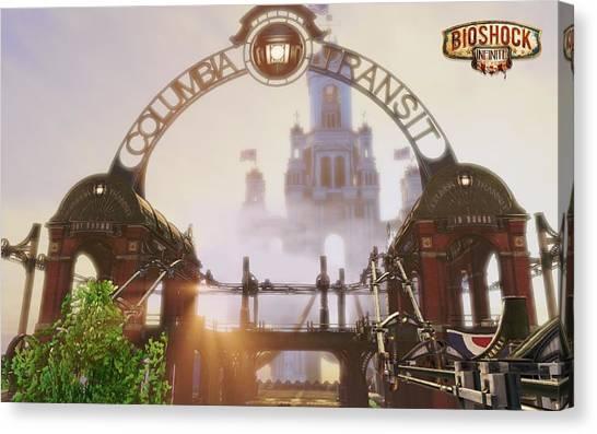 Bioshock Canvas Print - Bioshock Infinite by Dorothy Binder