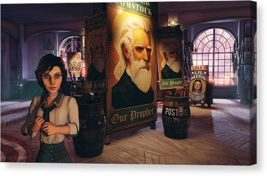 Bioshock Canvas Print - Bioshock Infinite by Lissa Barone