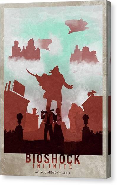 Bioshock Canvas Print - Bioshock Infinite by Ripley