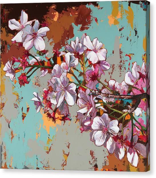 Cherry Blossoms Canvas Print - Biosphere #11 by David Palmer