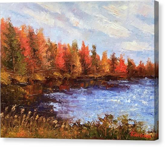 Birchwood Lake Canvas Print