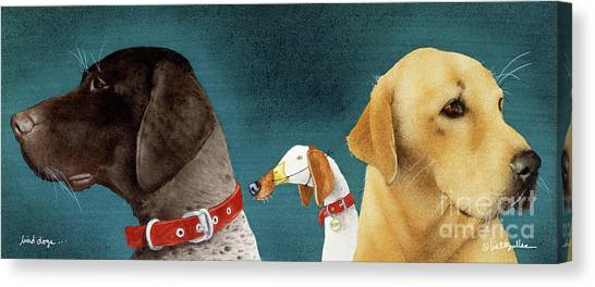 Bird Dogs... Canvas Print