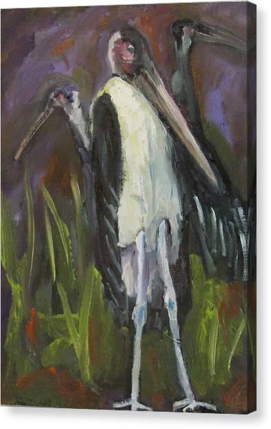 Bird Legs Canvas Print