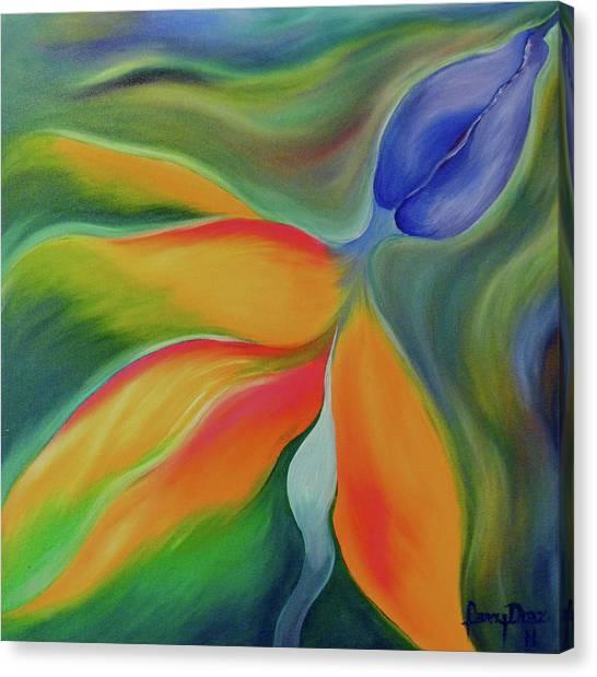 Bird Of Paradaise Canvas Print