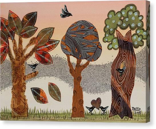 Birds Refuge Canvas Print