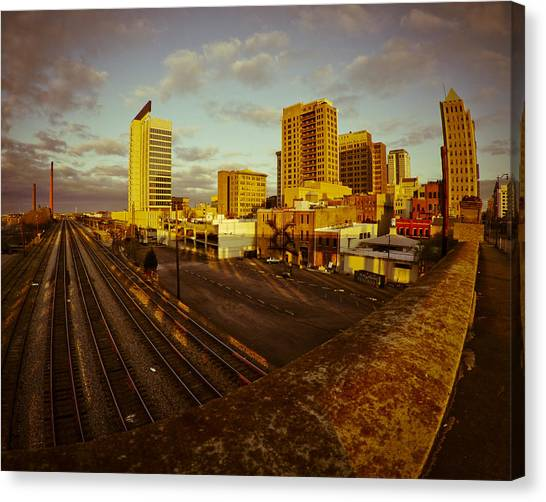 Birmingham Awakes Canvas Print