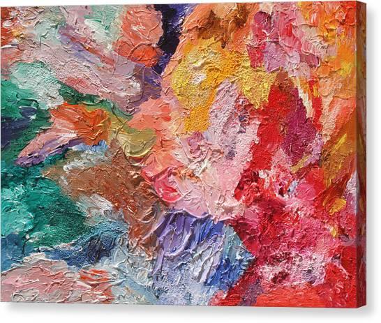Birth Of Passion Canvas Print