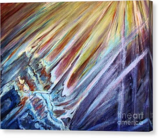 Birth Of The Universe Canvas Print