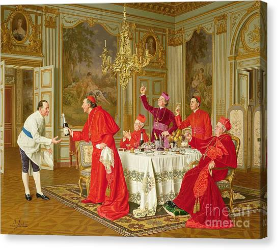 Drunk Canvas Print - Birthday by Andrea Landini