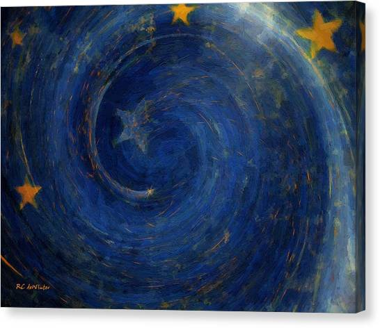 Birthed In Stars Canvas Print