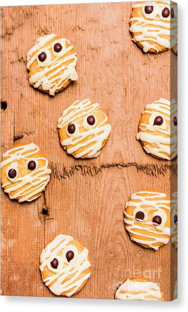 Biscuits Canvas Print - Biscuit Gathering Of Monster Mummies by Jorgo Photography - Wall Art Gallery