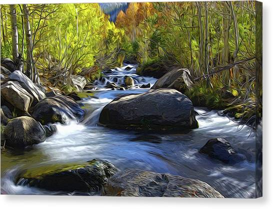 Bishop Creek Canvas Print
