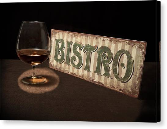 Bistros Canvas Print - Bistro Still Life I by Tom Mc Nemar