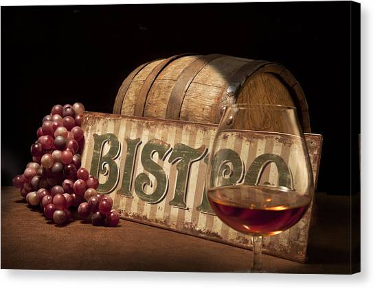 Keg Canvas Print - Bistro Still Life II by Tom Mc Nemar
