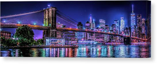 Canvas Print featuring the photograph Bk Glow by Theodore Jones
