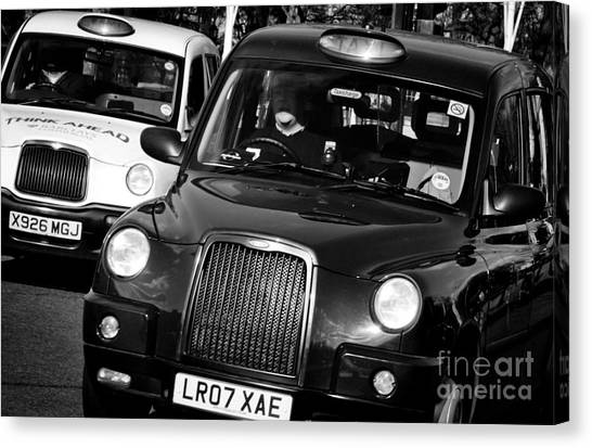 black and white london taxi cabs photograph by andy smy. Black Bedroom Furniture Sets. Home Design Ideas