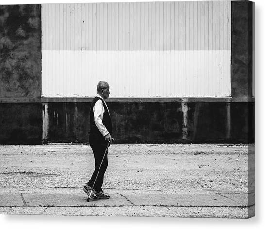 Black And White Street Photography Canvas Print by Dylan Murphy