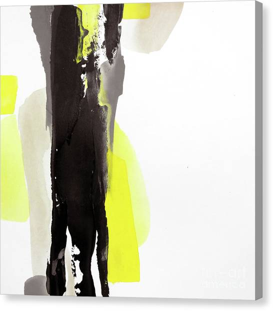 Canvas Print - Black And Yellow 2 by Chris Paschke